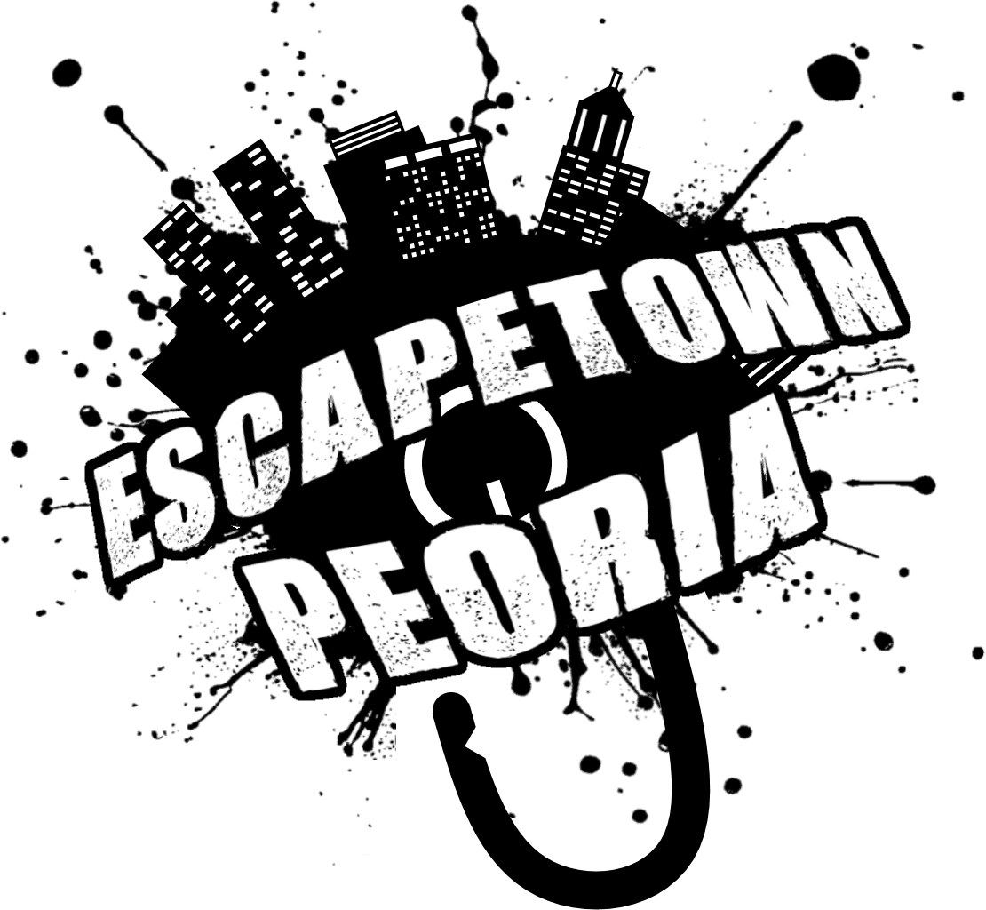 Escapetown Peoria use your critical thinking skills, team work, and a whole lot of creativity to solve the puzzles and get out... before time runs out!
